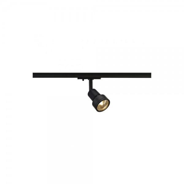 SLV 143390 Black Puri Lamp Head for 1-Circuit Track