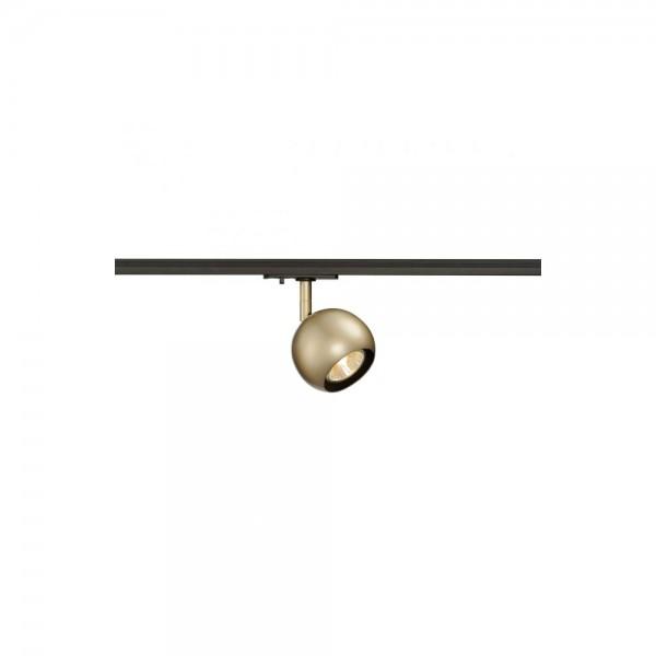 SLV 144013 Brass Light Eye GU10 for 1-Track Circuit