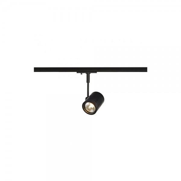 SLV 143440 Black Bima 1 Lamp Head for 1-Circuit Track