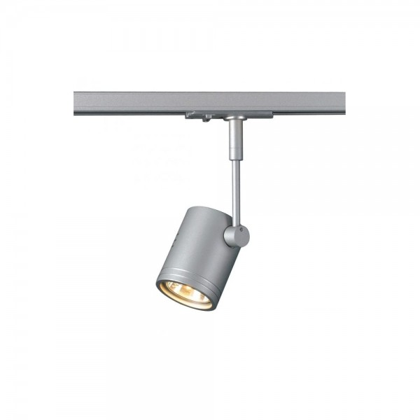 SLV 143442 Silver-Grey Bima 1 Lamp Head for 1-Circuit Track