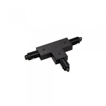 SLV 143070 Black T Coupler Earth Left 240v 1 Circuit Track