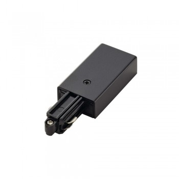 SLV 143040 Black Feed In Earth Right 240v 1 Circuit Track