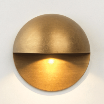 Astro 1338003 Tivoli LED Antique Brass Exterior Wall Light