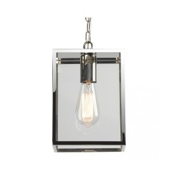 Astro 1095019 Polished Nickel Homefield 240 Exterior Porch Pendant