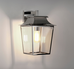 Astro 1340010 Polished Nickel Exterior Lantern 200