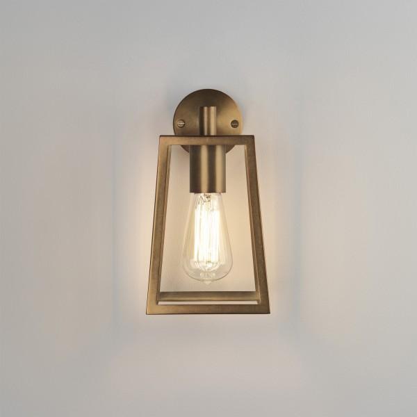 Astro 1306005 Calvi Antique Brass Exterior Modern Wall Lantern