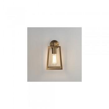 Astro Lighting 1306005 Calvi Antique Brass Exterior Modern Wall Lantern