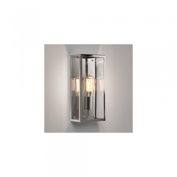 Astro 1183008 Messina 160 Polished Nickel Exterior Wall Light