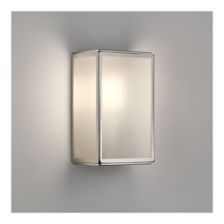 Astro Homefield Sensor 1095016 Polished Nickel, White Frosted Glass Diffuser Exterior Wall-light