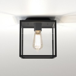 Astro 1354001 Box Textured Black Ceiling Exterior Light