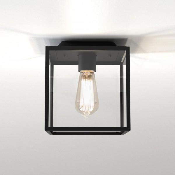 Astro 1354001 Box Textured Black Ceiling Exterior Light
