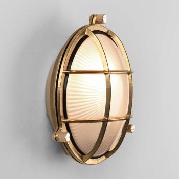 Astro 1376001 Thurso Round Natural Brass Exterior Light