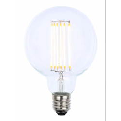 Forum INL-G95-LED-ES-CLR 6w LED G95 ES Clear LED Dimmable Lamp