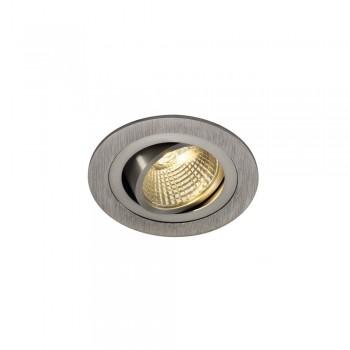 SLV 113906 Aluminium Brushed New Tria Set Round LED Downlight