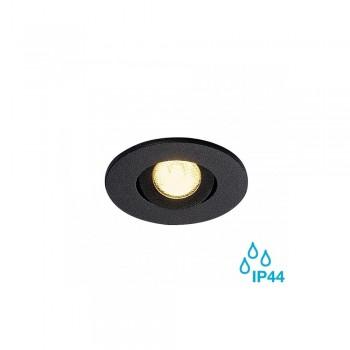SLV 113970 Matt Black New Tria Mini Set Round LED Downlight