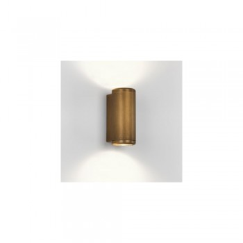 Astro 1375002 Jura Twin Exterior Wall light in Antique Brass