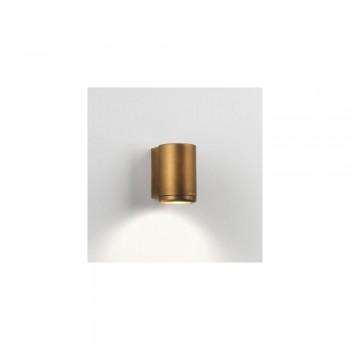 Astro 1375001 Jura Single Exterior Wall Light in Antique Brass
