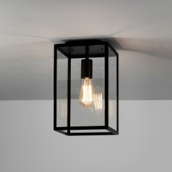 Astro 1095021 Homefield Black Exterior Ceiling Light