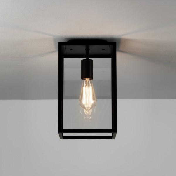 Astro 1095021 Homefield Black Exterior Ceiling Light