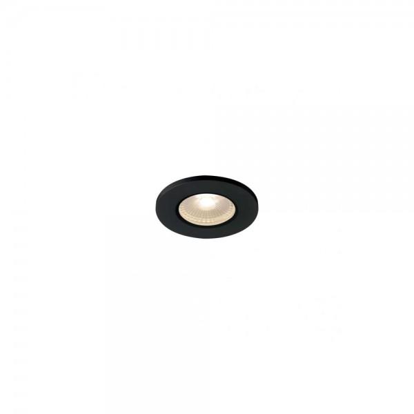 SLV 1001015 Black Kamuela Eco LED 3000K Fire-Rated