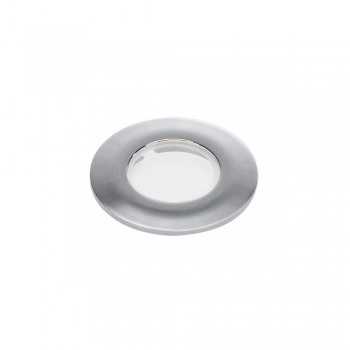 SLV 114082 Chrome Decorative frame for Fire-Rated Downlight