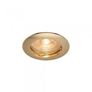 SLV 1000716 Brass Pika QPAR51 Recessed Light