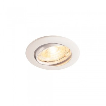SLV 1000718 White Pika QPAR51 Adjustable Recessed Light