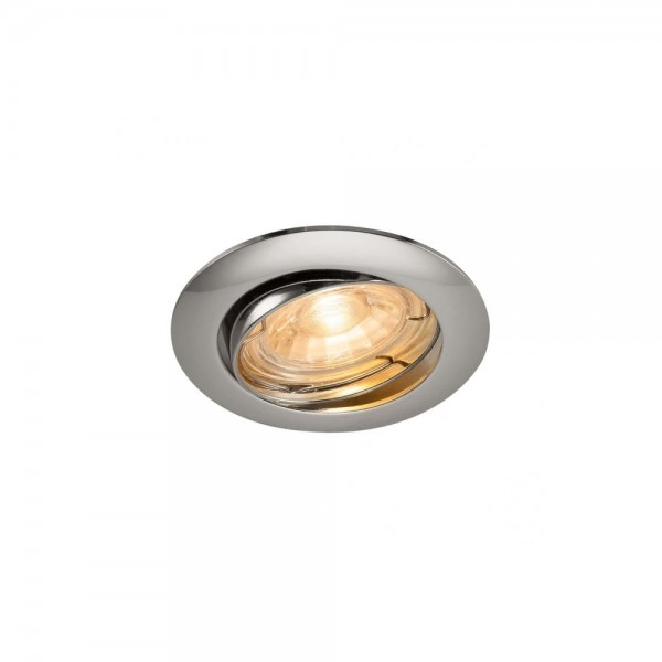 SLV 1000719 Chrome Pika QPAR51 Adjustable Recessed Light