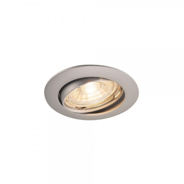 SLV 1000721 Silver-Grey Pika QPAR51 Adjustable Recessed Light