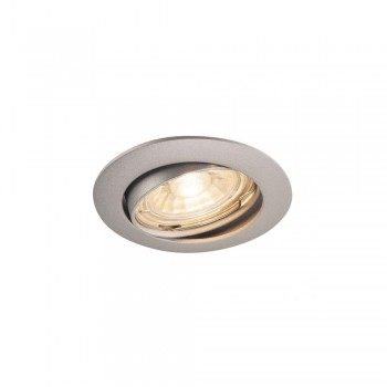 SLV 1000721 Silver-Grey Pika QPAR51 Adjustable Recessed Light