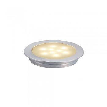 SLV 550672 Anodised Aluminium Slim Light 3000K LED Ceiling/Wall/Floor Light