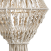 Dar Lighting KAL6533 Kaleb Easy Fit Macrame Cream Shade