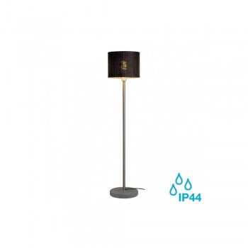 SLV 231395 Anthracite/Granite Adegan Manila E27 Outdoor Floor Light