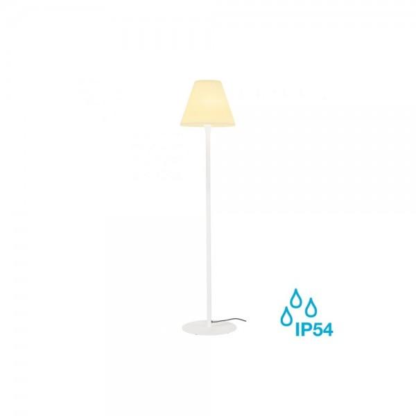 SLV 228961 White Adegan E27 Outdoor Floor Light