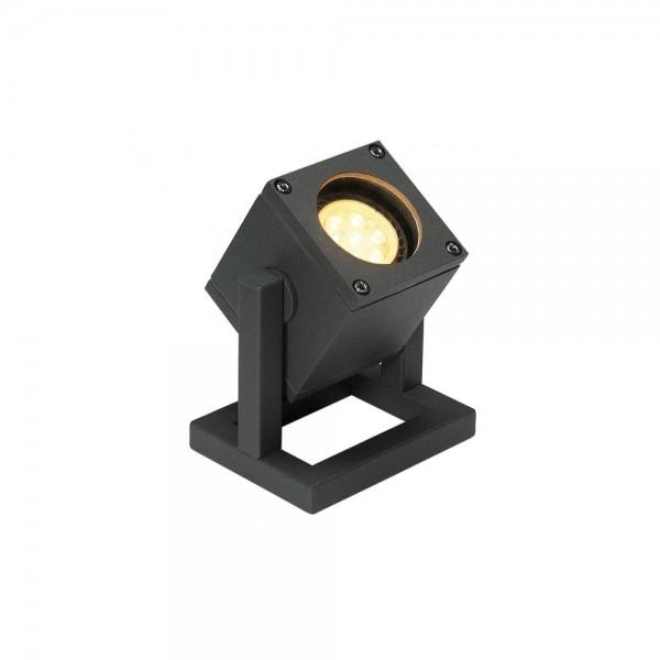 SLV 132835 Anthracite Cubix I GU10 Outdoor Floor Lamp