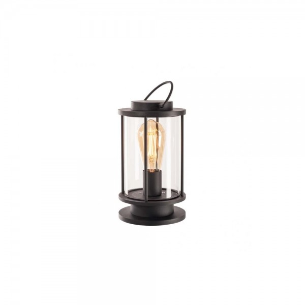 SLV 1000399 Anthracite Photonia E27 Table Light with open cable end