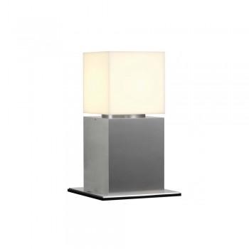 SLV 1000344 Stainless Steel Square Pole 30 Outdoor Bollard Light