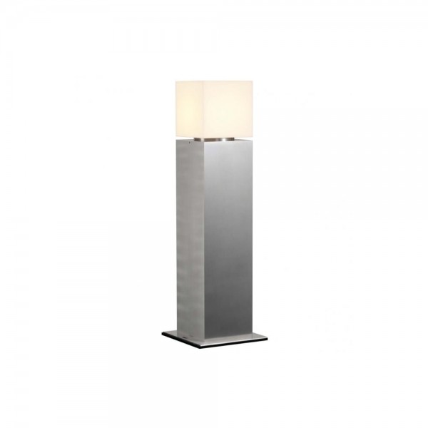SLV 1000345 Stainless Steel Square Pole 60 Outdoor Bollard Light
