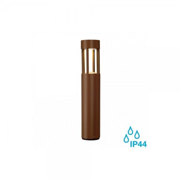 SLV 231817 Rust Slots 45 6.3W LED Outdoor Bollard Light