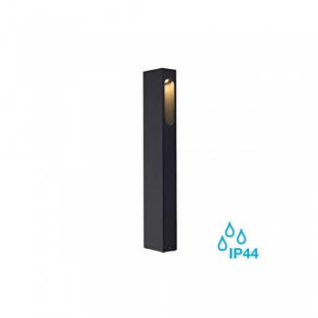 SLV 232145 Anthracite Slotbox 70 LED Outdoor Bollard Light