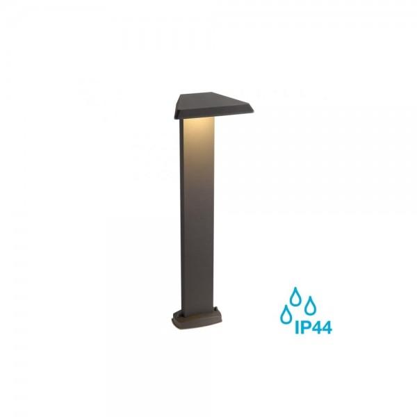 SLV 231765 Anthracite Trapecco 10W LED Outdoor Bollard Light
