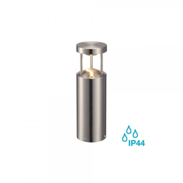 SLV 231893 Brushed Stainless Steel Vap 8.9W LED 30 Outdoor Bollard Light