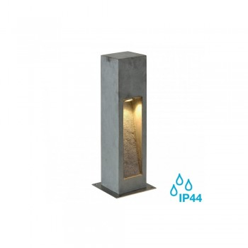 SLV 231370 Stone-Grey Arrock Stone 50 LED Outdoor Bollard Light