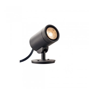 SLV 1000735 Anthracite Helia 8W LED Outdoor Spotlight