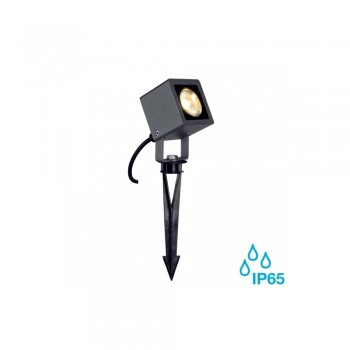 SLV 231035 Anthracite Nautilus Square 9W LED Outdoor Ground Spotlight