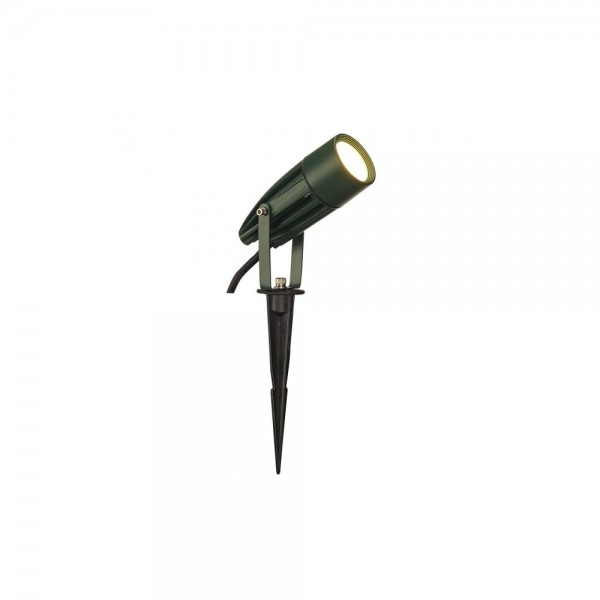 SLV 227508 Green Syna Spike 8.6W 3000K LED Outdoor Ground Spotlight