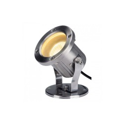 SLV 229741 Stainless Steel Nautilus QPAR51 Outdoor Ground Spotlight