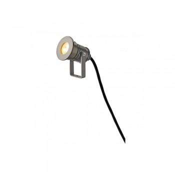 SLV 233560 Anodised Aluminium Dasar Projector Pro 7W LED Outdoor Spotlight