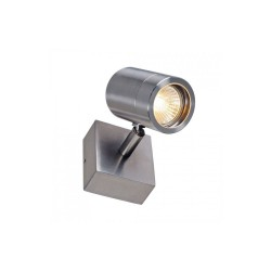 SLV 233300 Stainless Steel 304 GU10 Single Outdoor Wall Spotlight