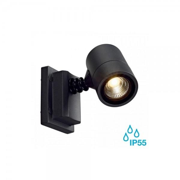SLV 233205 Anthracite Myraled 6.8W LED Outdoor Wall Spotlight